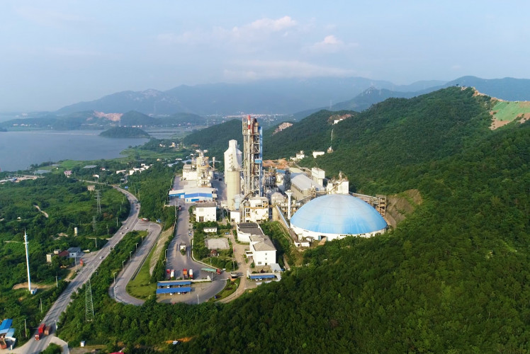 Aalborg Portland Plant in Anqing, China